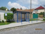 Rekonstrukce autobusových zastávek v Křičeni