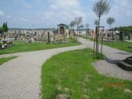 Vybudování chodníku na hřbitově v Rohovládově Bělé