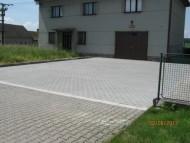 Oprava parkoviště v Sopřeči