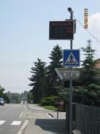 Pořízení ukazatelů rychlosti ve Volči